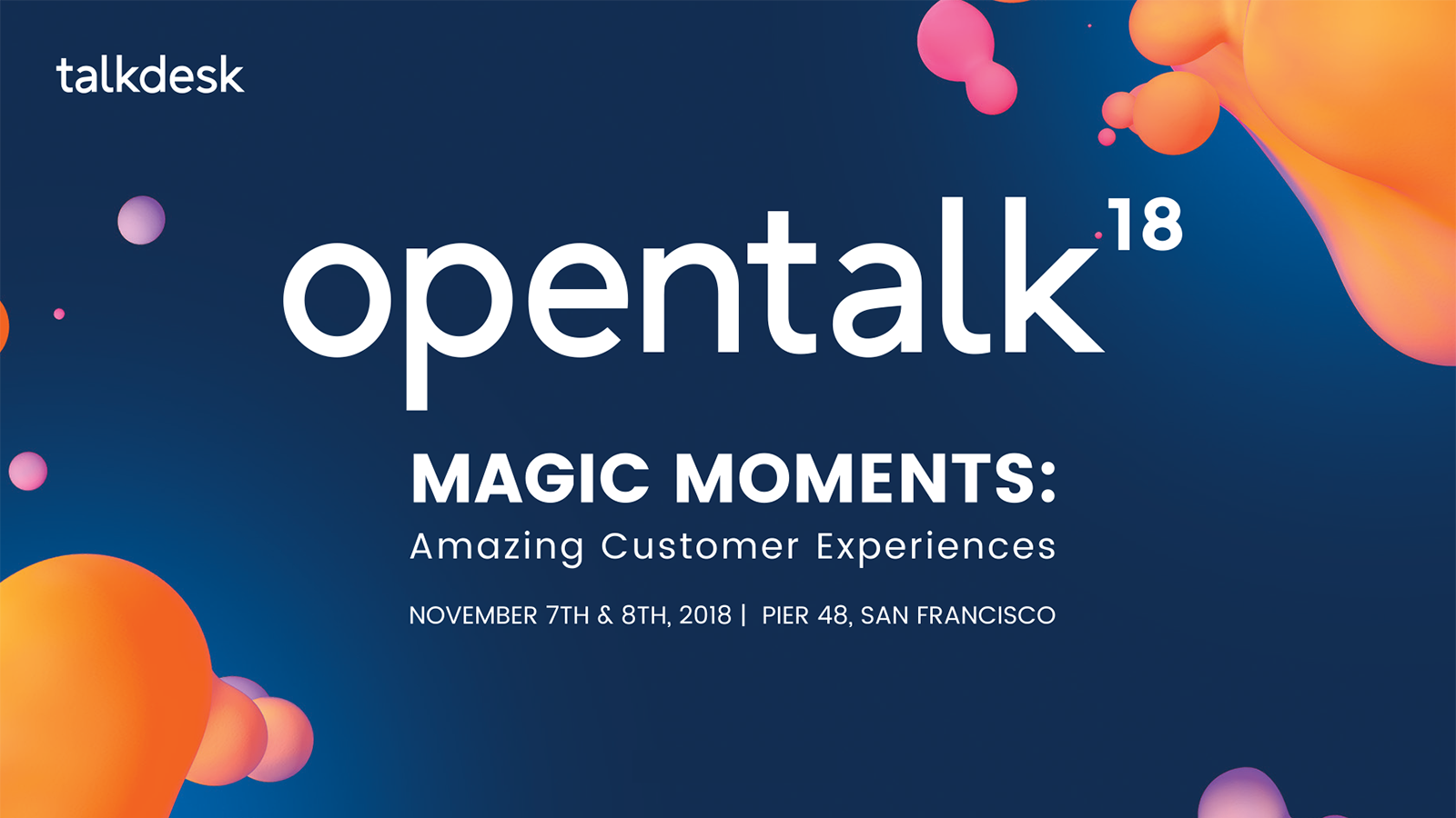 Behavioral Signals at Opentalk2018