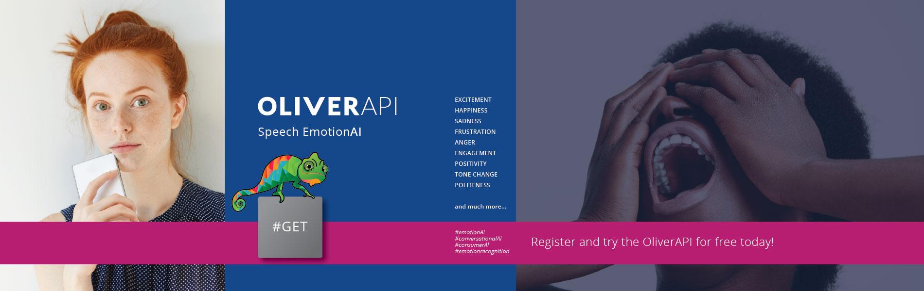 OliverAPI for speech emotionAI by Behavioral Signals