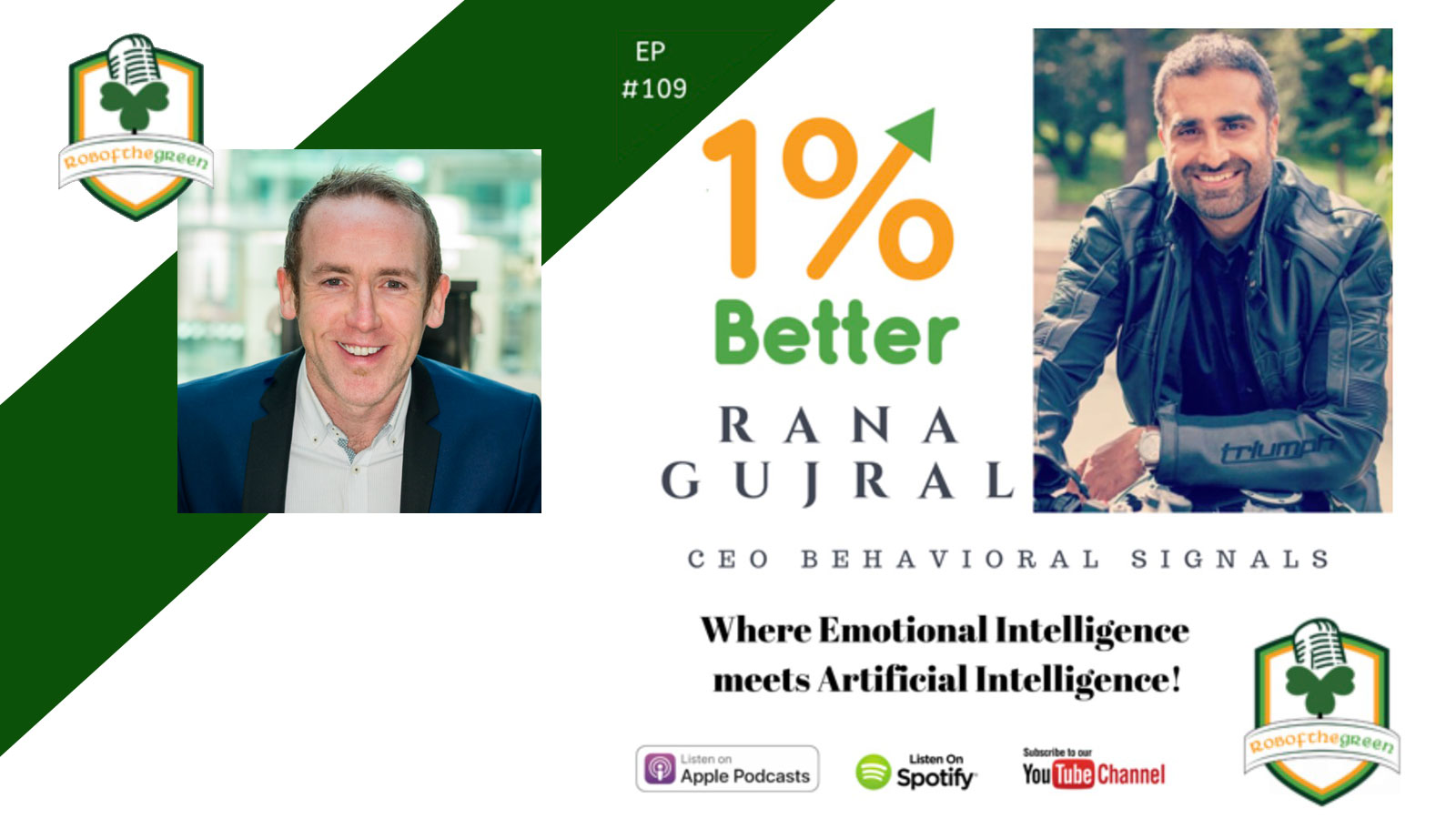 Rob of the Green interviews Rana Gujral, CEO at Behavioral Signals