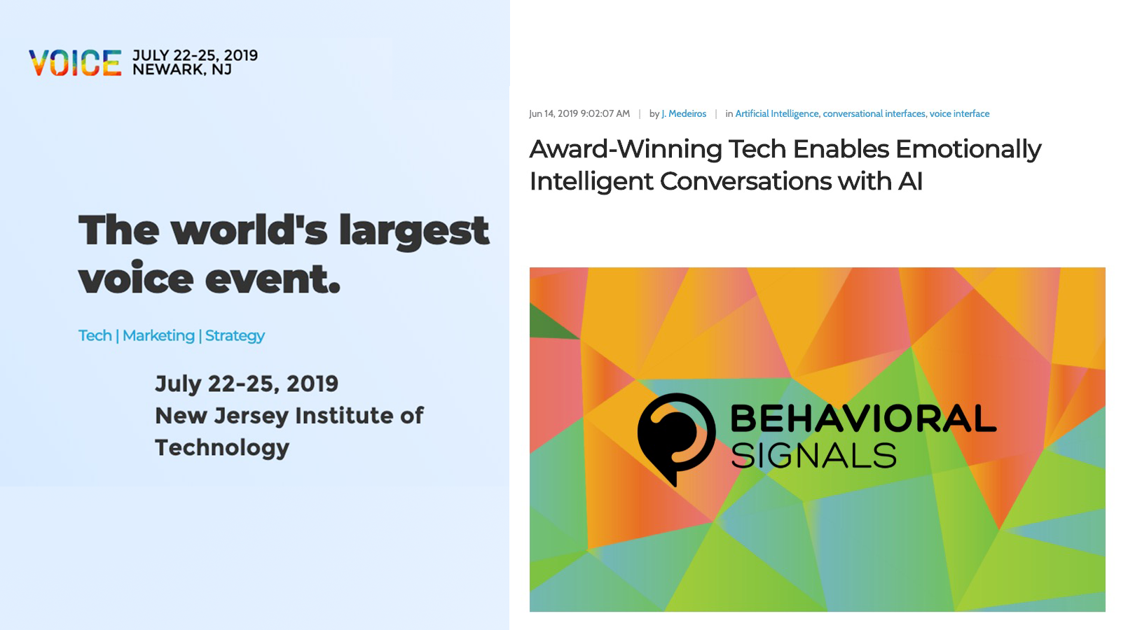 Award-Winning Tech Enables Emotionally Intelligent Conversations with AI - VOICE Summit