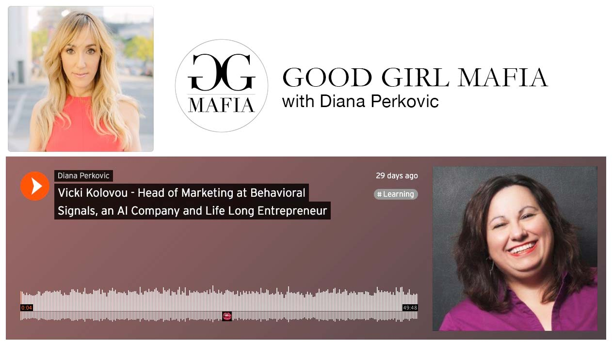 Vicki Kolovou on Good Girl Mafia with Diana Perkovic