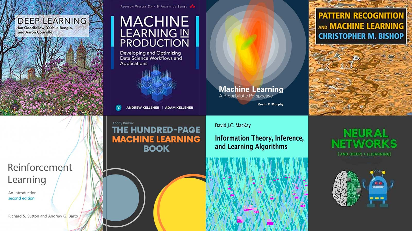 Machine Learning Books for 2020 by Behavioral Signals